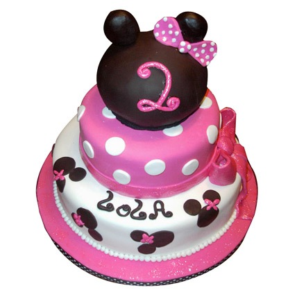 Princess Minnie Cake 5kg Eggless