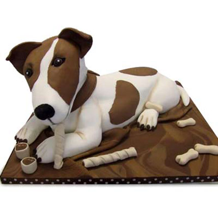 Puppy Dog Cake 5kg Eggless