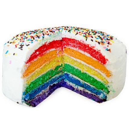 Rainbow Cake Half kg