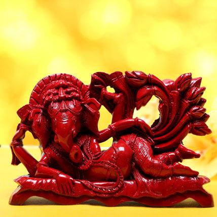 Reclining Ganesha