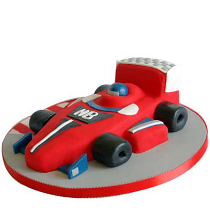 Red Hot Ferrari Car Cake 4kg