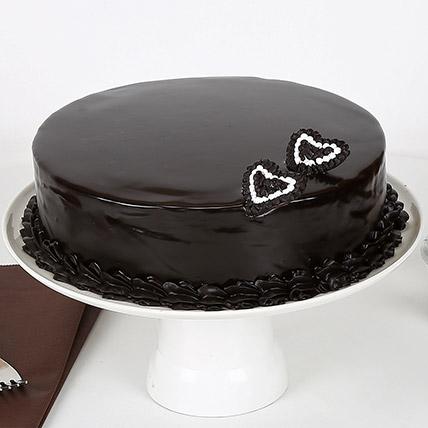 Rich Velvety Chocolate Cake 1kg Eggless