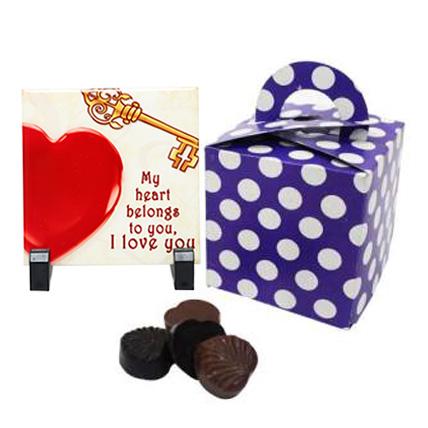 Romance Filled Chocolate Box