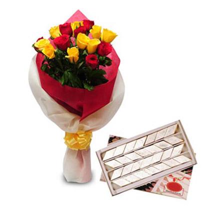 Roses N Kaju Katli EXDFNP104