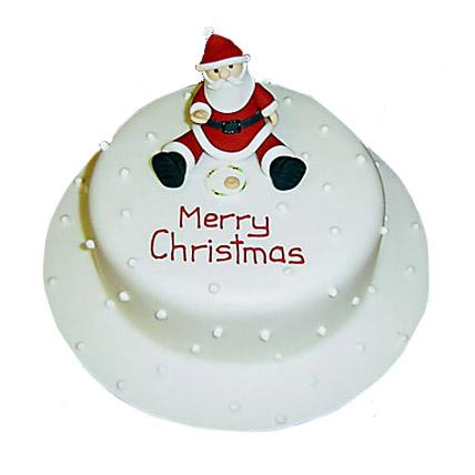 Santa Christmas Cake 1kg