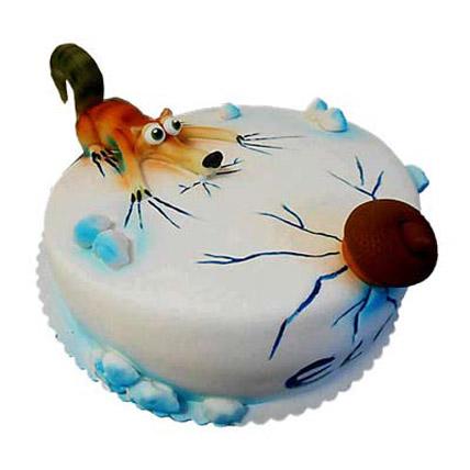 Scrat Cake 4kg Eggless