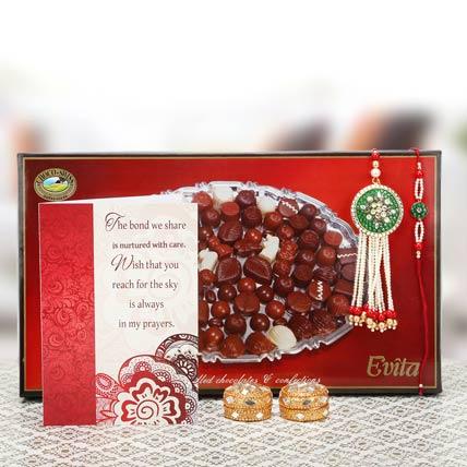 Sharing And Caring Rakhi Gift