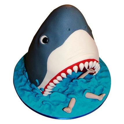 Shark Cake 2kg Eggless