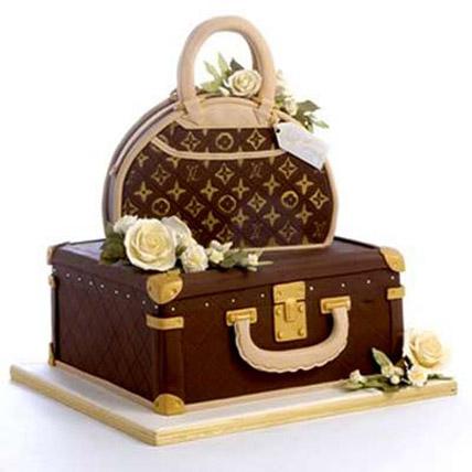 Showy LV Bag Cake 3kg