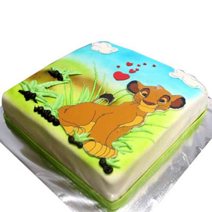Simba Picture Cake 4kg Eggless