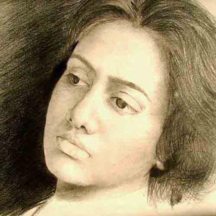 Single Pencil Portrait A4