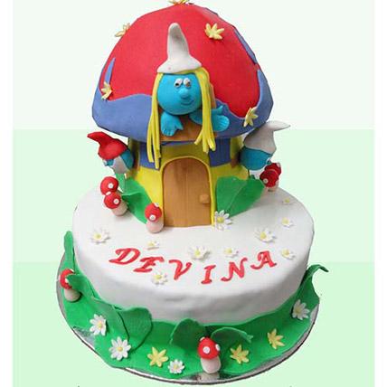 Smurf Cake 3kg