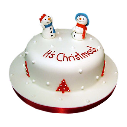 Snowman Christmas Cake 3kg