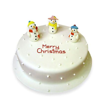 Snowy Christmas Cake 3kg