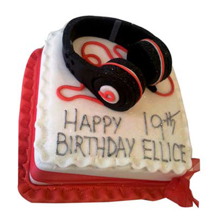 Softy Headphone Cake