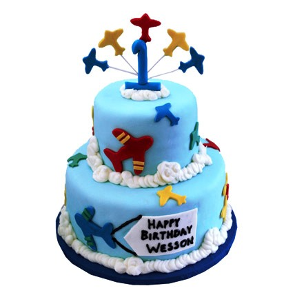 Special Airplane Cake 4kg Eggless