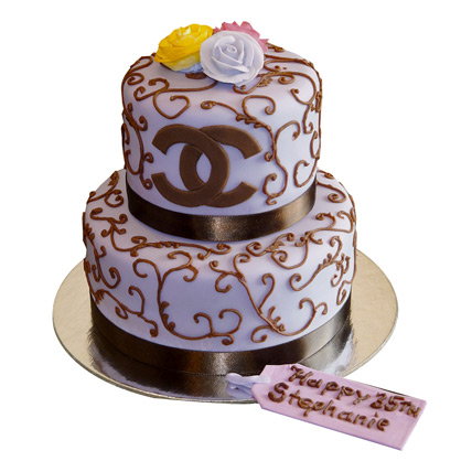 Special Chanel Cake 4kg Eggless