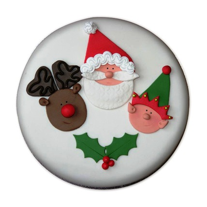 Special Delicious Merry Christmas Cake 4kg