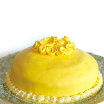 Special Exotic Mango Cake 1kg Eggless