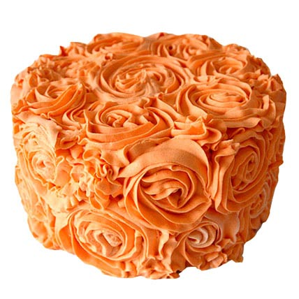 Special Orange Cake 1kg Eggless