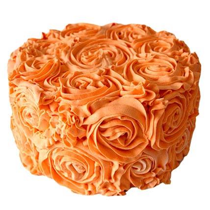 Special Orange Cake 2kg Eggless