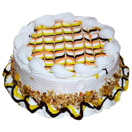Special Pineapple Cake Half kg Eggless