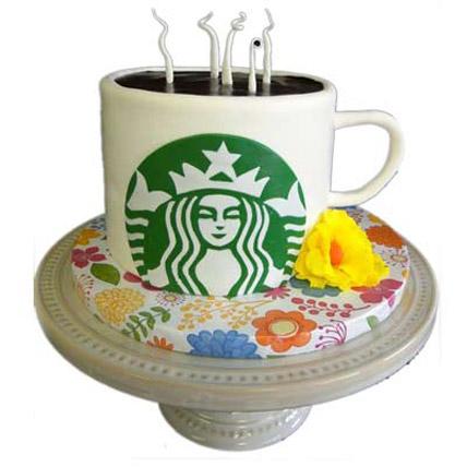 Starbucks Coffee Cake 3kg Eggless