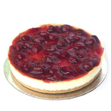 Strawberry Cheesecake 2kg Eggless