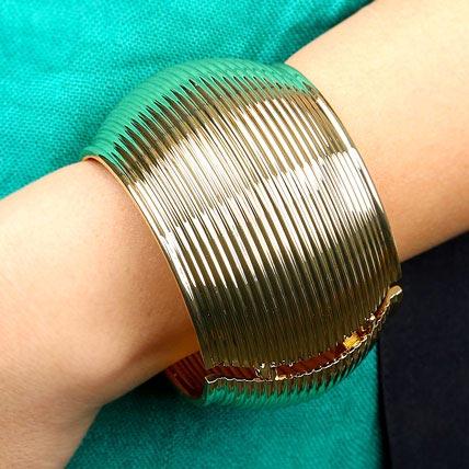 Stylish Golden Bracelet