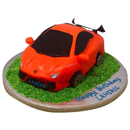 Stylish Lamborghini Cake 2kg