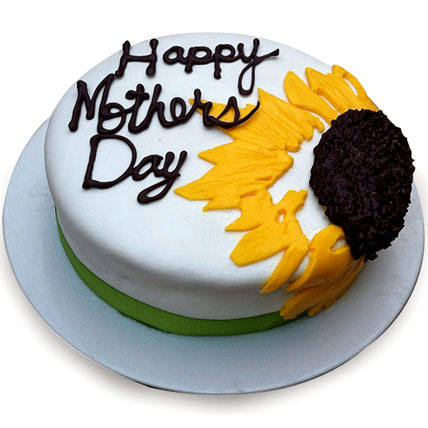 Sunflower Cake for Mom 1kg Eggless
