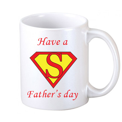 Super Fathers Day Coffee Mug