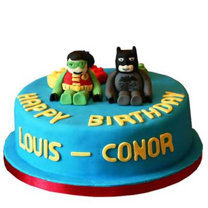 Sweet Baby Robin Batman Cake 2kg Eggless