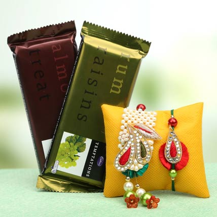 Sweet Blessings Lumba Rakhi Set