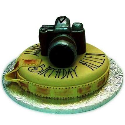 Sweet Camera Cake 3kg Eggless