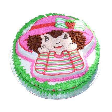 Sweet Little Girl Cake 4kg Eggless