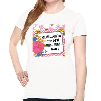 T Shirt With Mommy On It Small