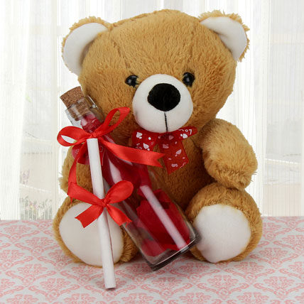 Teddy Love Message