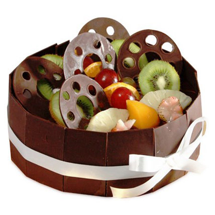 The Chocolate Fruit Basket Half kg