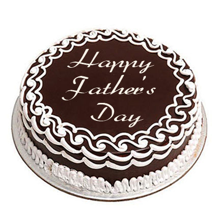The Delicious Chocolate DAD Cake 2kg Eggless