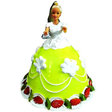 The Lovely Barbie Cake 2kg