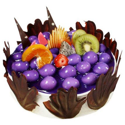 The Purple Fantasy 1kg Eggless