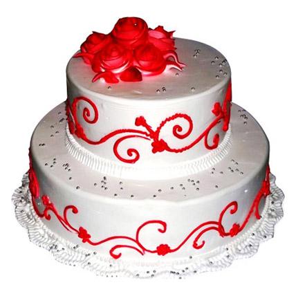 The Royal Three Tier Cake 4kg
