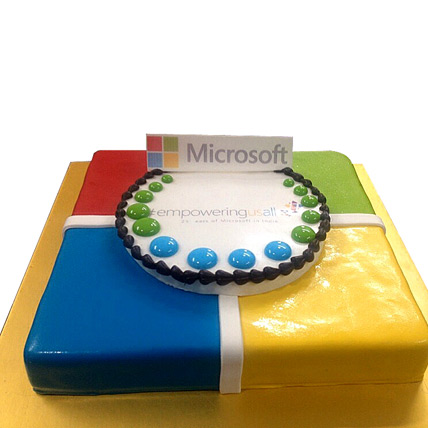 Toothsome Microsoft Treat cake 2kg Eggless