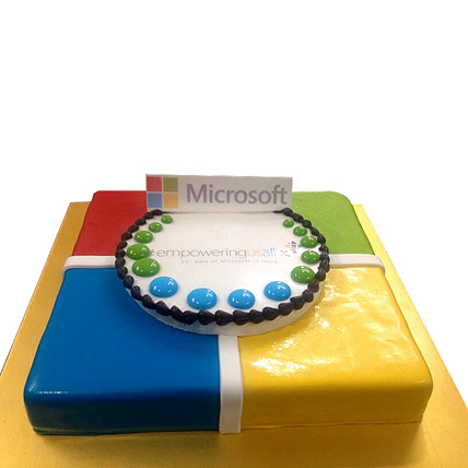 Toothsome Microsoft Treat cake 4kg