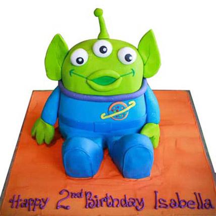 Toy Story Alien Cake 3kg Eggless