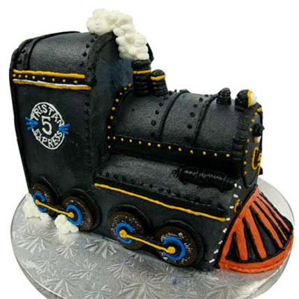 Train Engine Cake 4kg Eggless
