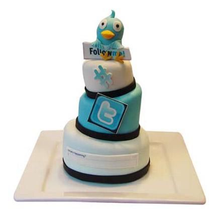 Twitter Tweets Cake 5kg