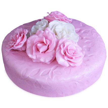 Valentine Pink Rose Cake 4kg