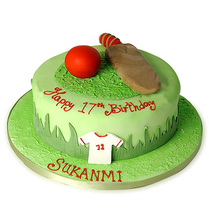 Welcome Back Cricket Cake 3kg